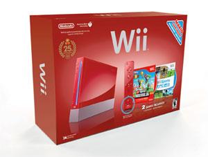 Super Mario Red Wii Bundle Box Art