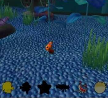 Screenshot from Finding Nemo (Eeek!)