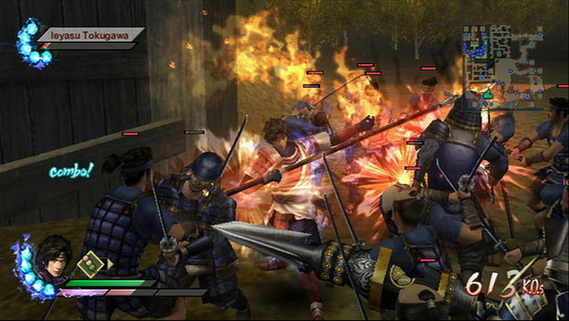 Samurai Warriors 3 Screenshot 2