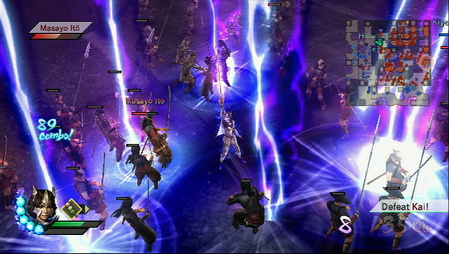 Samurai Warriors 3 Screenshot 3