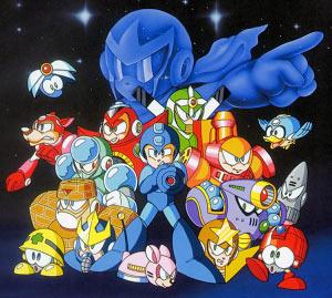 Mega Man 5 Artwork