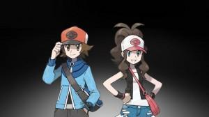 Pokemon Black and White Versions Artwork - Heroes Close