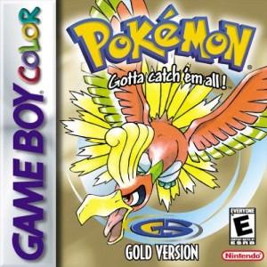 Pokémon Gold Box Art