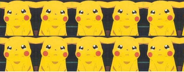 Crying Pikachu Collage Masthead