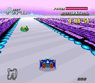 F-Zero Screenshot White Land