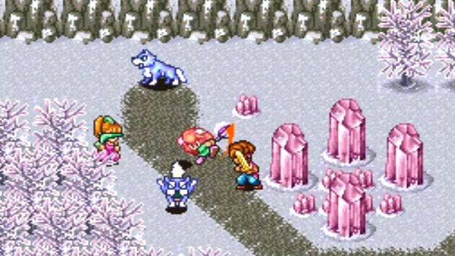 Secret of Mana Screenshot - Ice Area