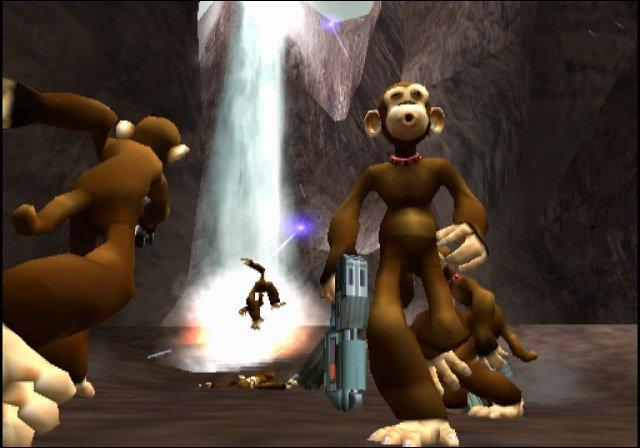 TimeSplitters 2 Screenshot - With Monkeys