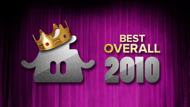 The Best Games of 2010 Overall
