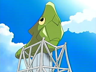 Metapod Artist Rendering (Anime)