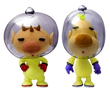 Captain Olimar and Louie artwork, Pikmin