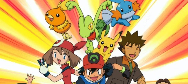 Pokémon anime Hoenn cast artwork