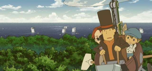 Professor Layton and the Eternal Diva screen
