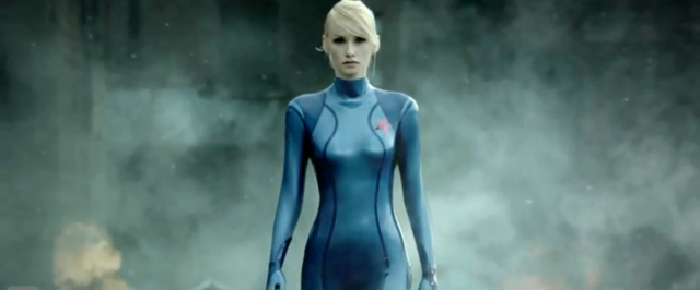 Metroid: Other M live action commercial still