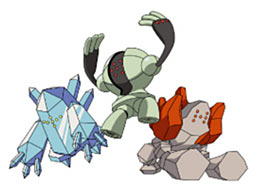 Pokémon Diamond Artwork - Regis