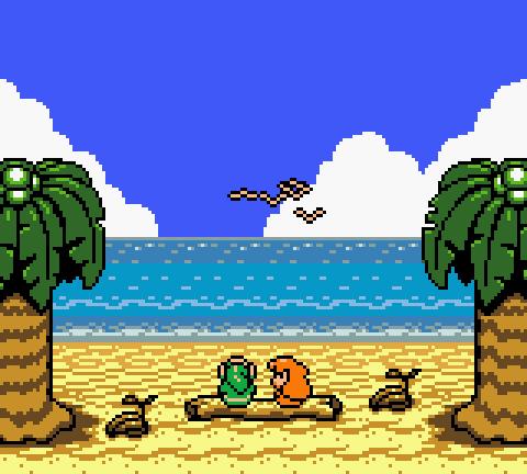 Marin & Link, The Legend of Zelda: Link's Awakening