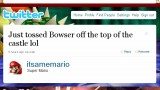Bowser is pretty outspoken on Twitter, a characteristic that sometimes doesn't play in his favor.