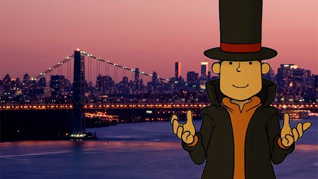 Professor Layton in NYC