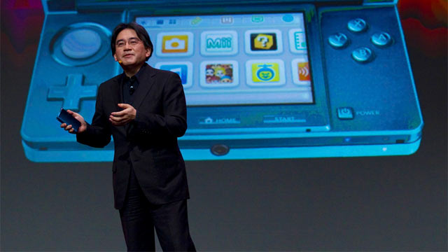 GDC 2011 Iwata and 3DS