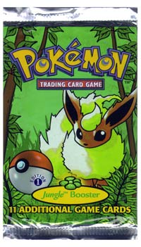 Pokémon Trading Card Game - Jungle Card Pack Photo