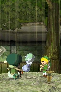The Legend of Zelda: Spirit Tracks Screenshot