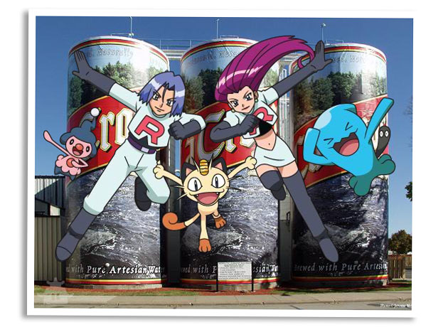 Team Rocket Tourism - Six Pack