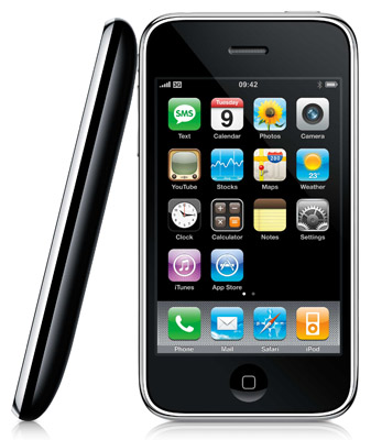 iPhone 3GS promo shot