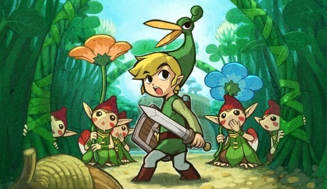 Minish Cap Link artwork