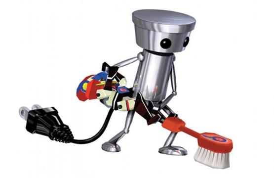 Chibi Robo Toothbrush artwork