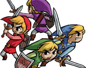 Four Links, Legend of Zelda: Four Swords artwork