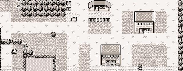 A Walk Down 8 Bit Lane masthead (Viridian City Pokémon Blue)