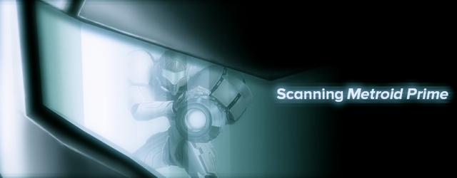 Scanning Metroid Prime masthead