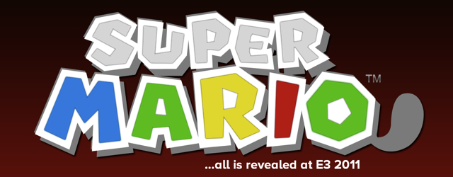 Super Mario 3DS at E3 2011 masthead