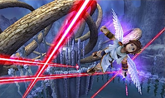 Kid Icarus: Uprising screen