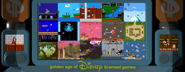 Golden Age Disney Licensed Games (Michael Edwards)