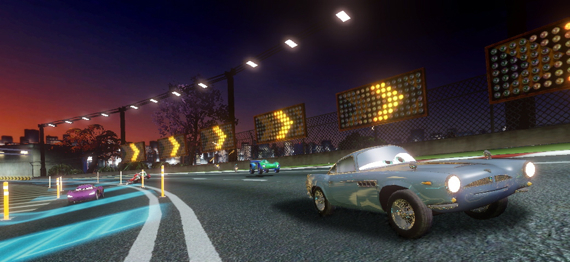 Cars 2 Wii screenshot