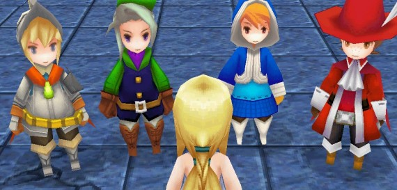Final Fantasy III screen
