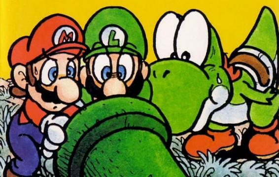art_Super Mario Adventures comics