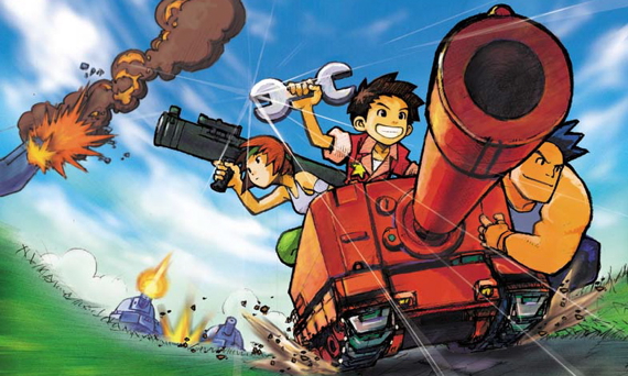 Advance Wars group character artwork (Orange Star)