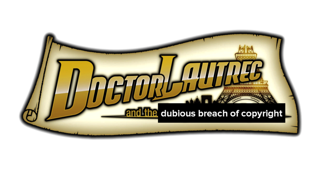 Doctor Lautrec and the dubious breach of copyright masthead