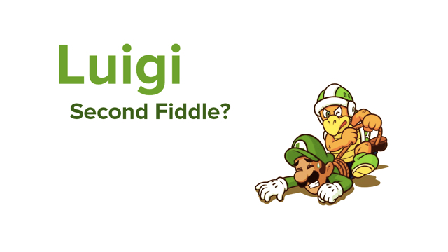 Luigi Second Fiddle masthead (Mel Turnquist)