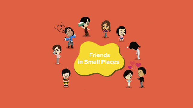 Friends in Small Places masthead (Kevin Knezevic)