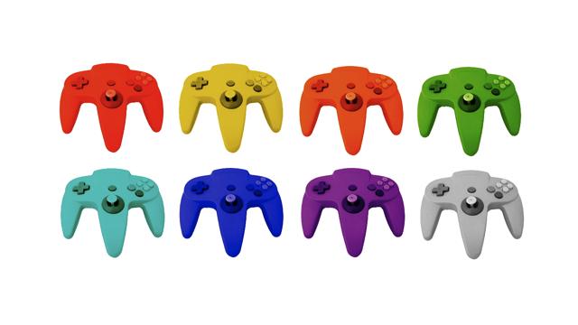 N64 controller rainbow masthead