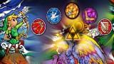Zelda items mural (Wind Waker)