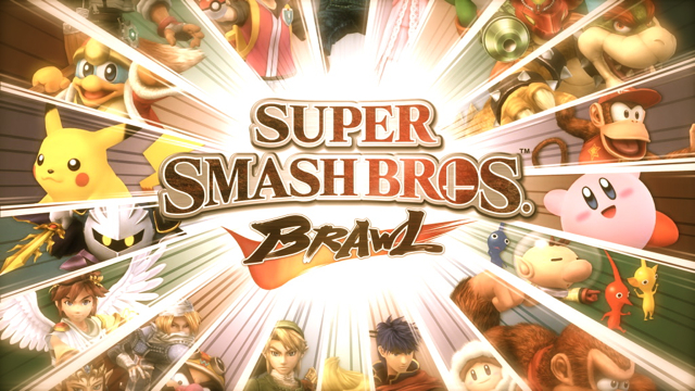 Super Smash Bros Brawl masthead