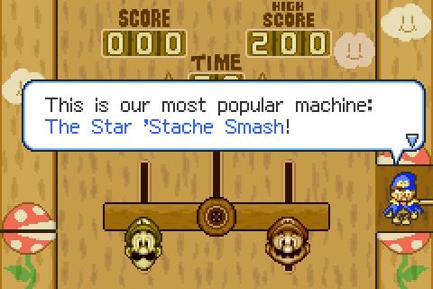 Superstar Saga Geno Screen