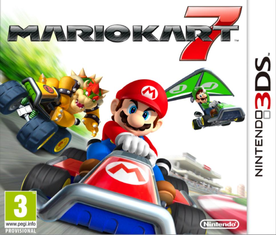 Mario Kart 7 box cover art