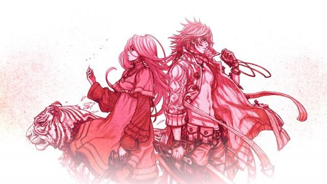 The Last Story red artwork masthead