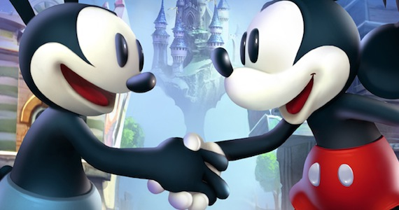 Epic Mickey 2 Official Art