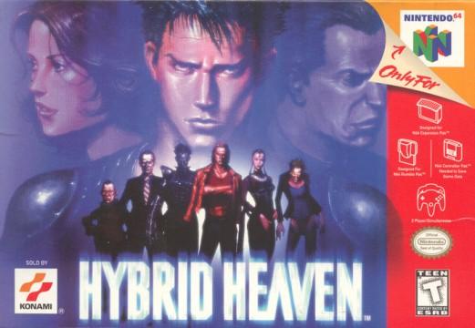 Hybrid Heaven box artwork