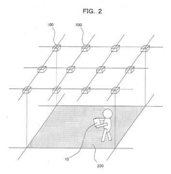 Nintendo Position Patent